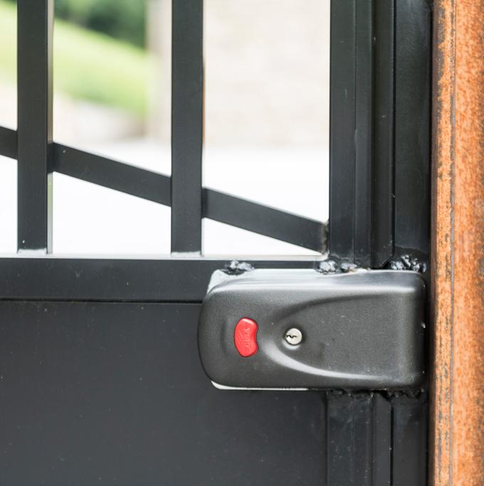 Puerta batiente cancela