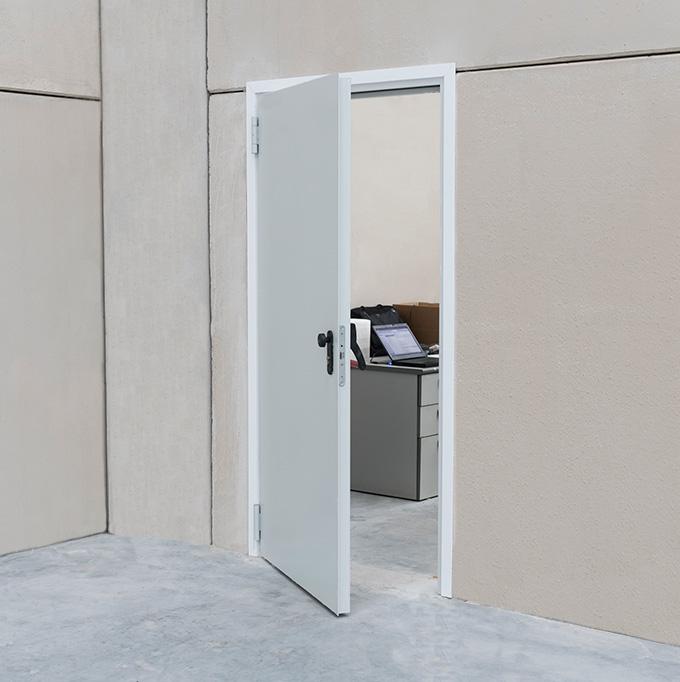 Puerta cortafuegos y multiusos